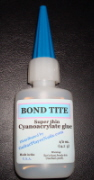Bond Tite fingernail glue